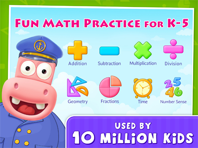 Splash Math - Fun Math Practice Games for Kindergarten to