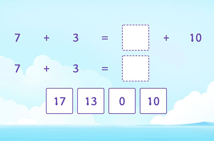 Add the Numbers by Making a 10