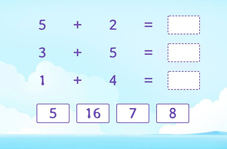 Add and Match to Find the Sum