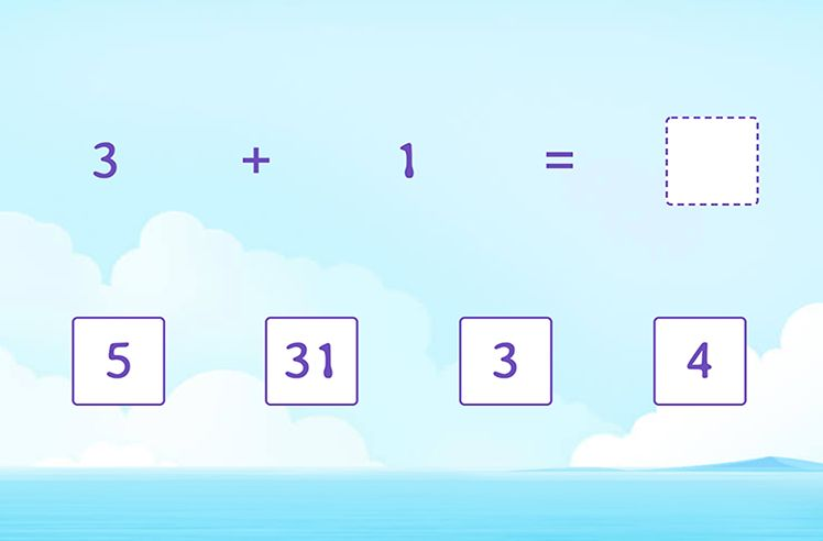 Identify the Sum within 10