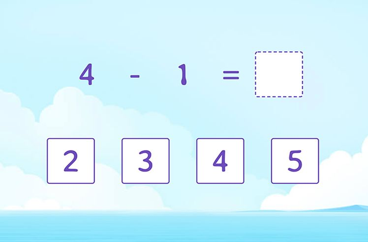 Subtract Two Numbers (Up to 5)