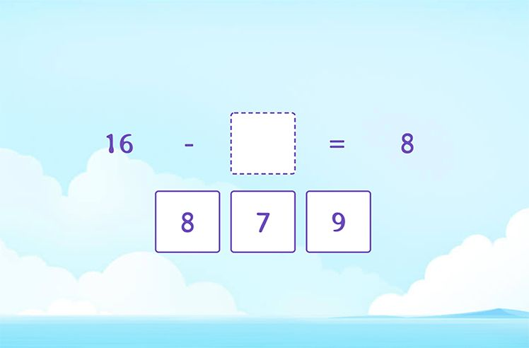Missing Number to Subtract Doubles
