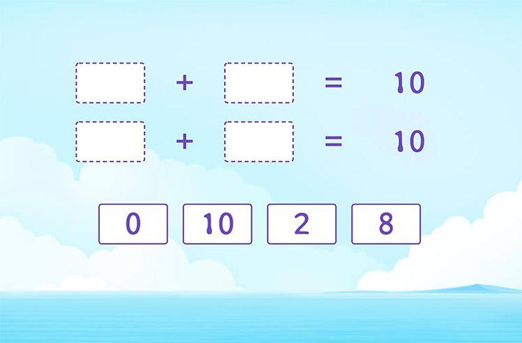 Make 10 in Different Ways