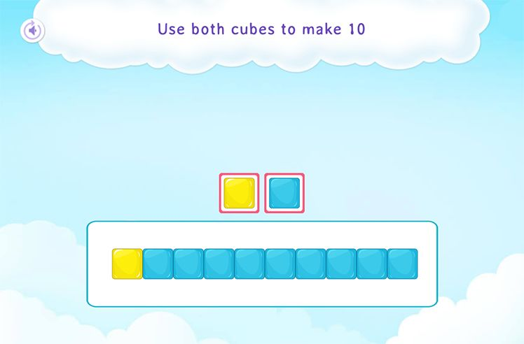 Making a Number (Up to 10) Using Cubes