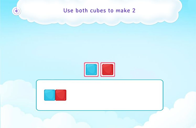 Make a Number Using Cubes (Up to 5)