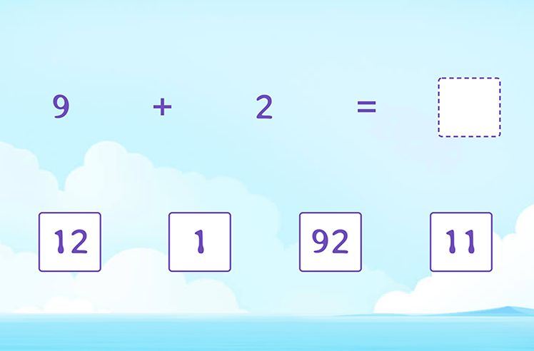 Missing Number in Addition Equation