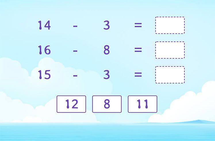 Subtract the Subtraction Sentences