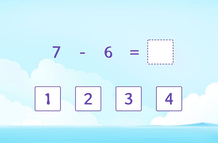 Subtract the Numbers (within 10)