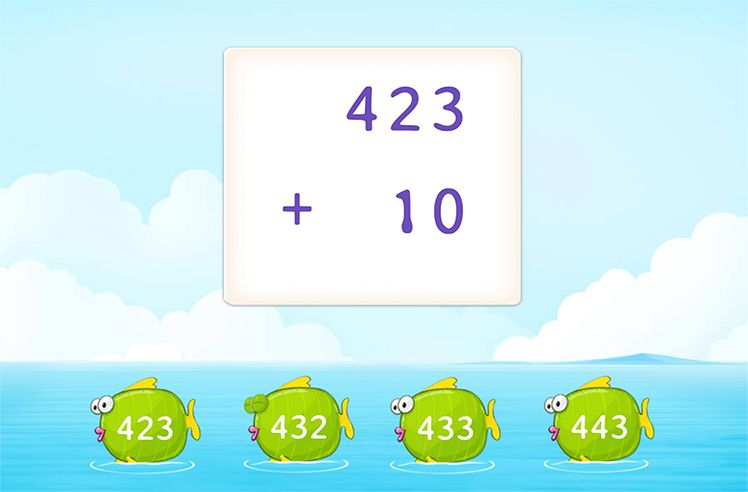 Adding 10 to a 3-Digit Number