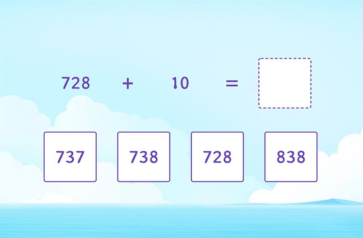 Add 10 to a 3-Digit Number