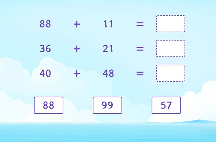 Use Addition to Find the Sum