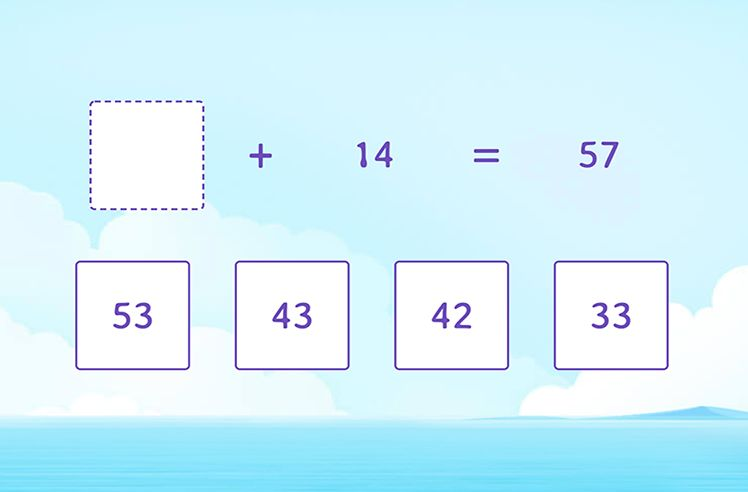 Find the Missing Number in Addition Sentences