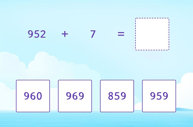 Fluently Add 3-Digit and 1-Digit Numbers