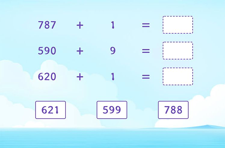 Find the Sum of 3-Digit and 1-Digit Numbers
