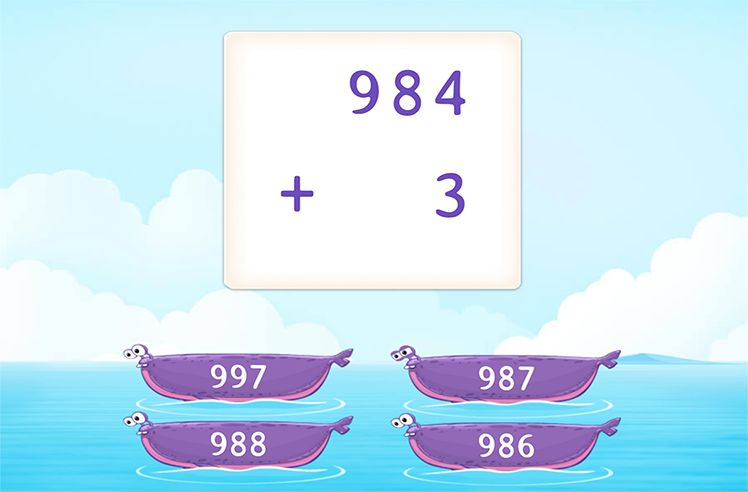 Add 3-Digit and 1-Digit Numbers without Regrouping