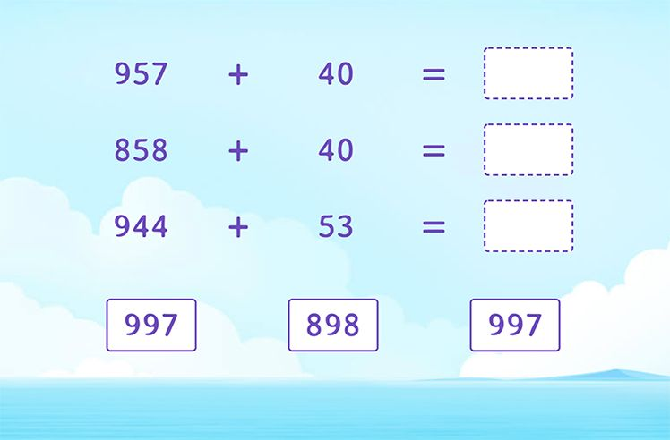 Find the sum of 3-Digit and 2-Digit Numbers