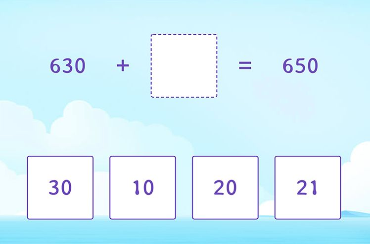 Missing Number in 3-Digit and 2-Digit Addition