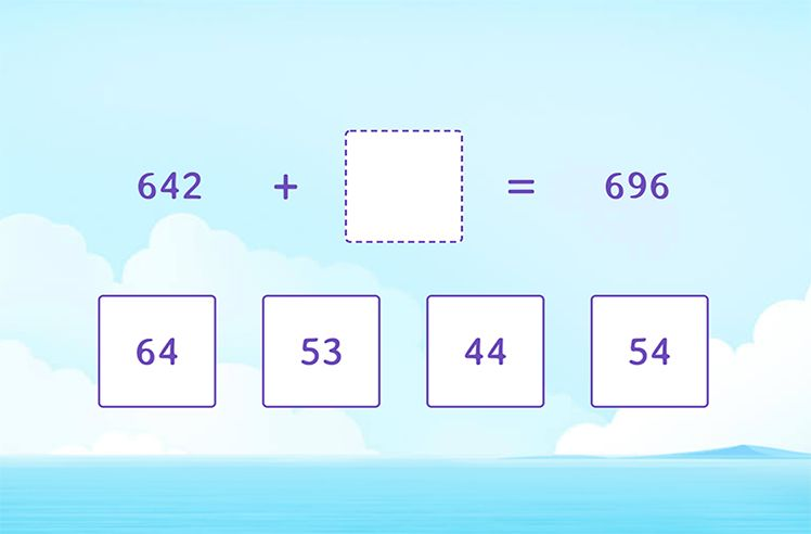 Find the Missing Number in Addition Equations