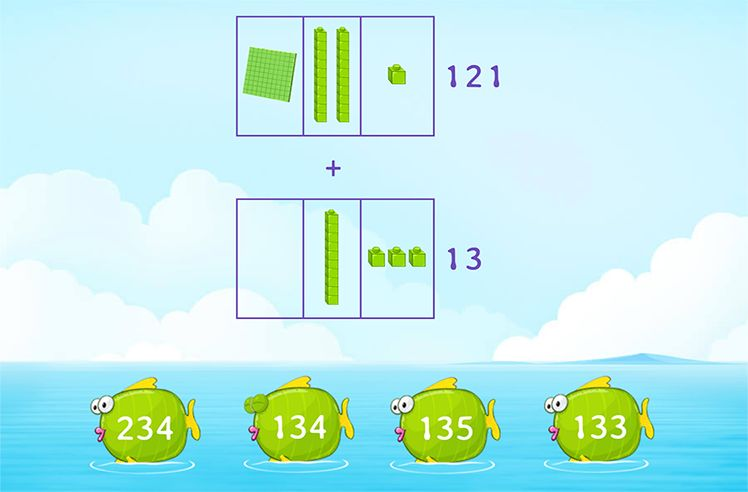 Use Models to Add 3-Digit and 2-Digit Numbers