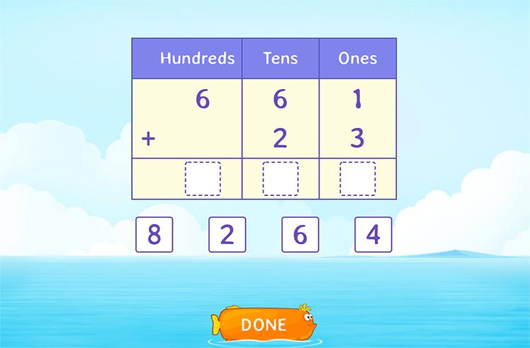 Add 3-Digit and 2-Digit Numbers using Place Value