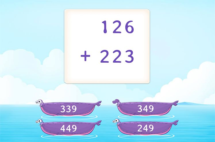 Add 3-Digit and 3-Digit Numbers without Regrouping
