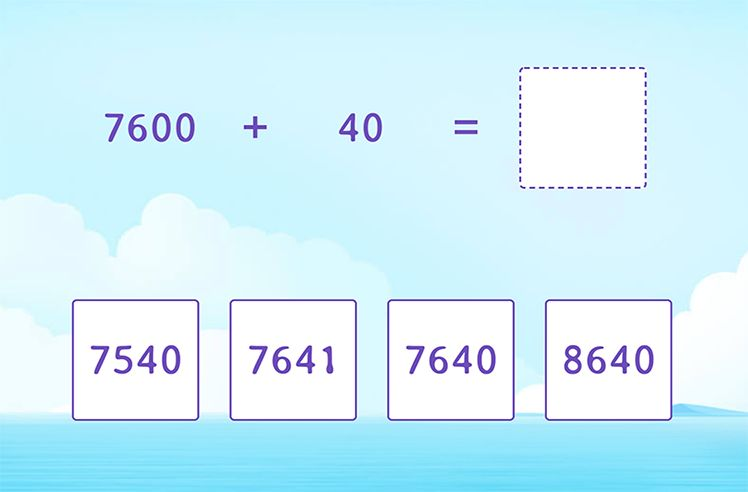 Fluently Add 4-Digit and 2-Digit Numbers