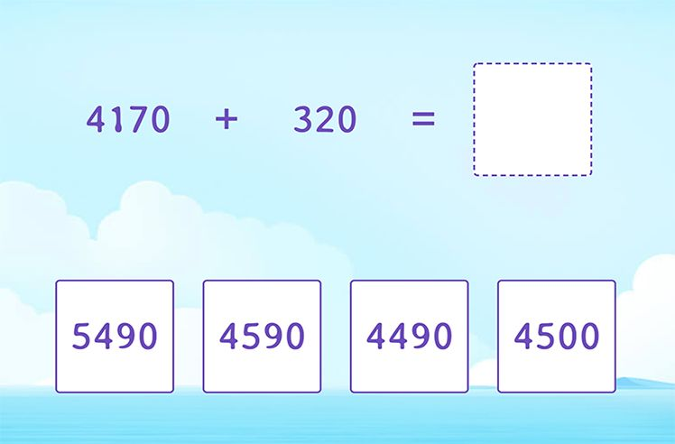 Fluently Add 4-Digit and 3-Digit Numbers