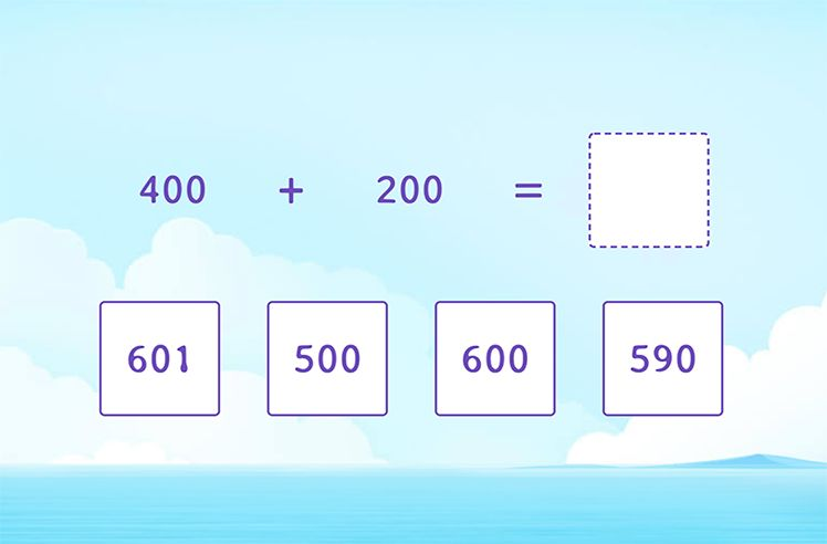 Adding Multiples of 100