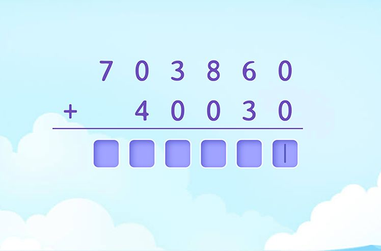 FInd the Sum of Numbers WIth Place Value Upto Ten Thousands