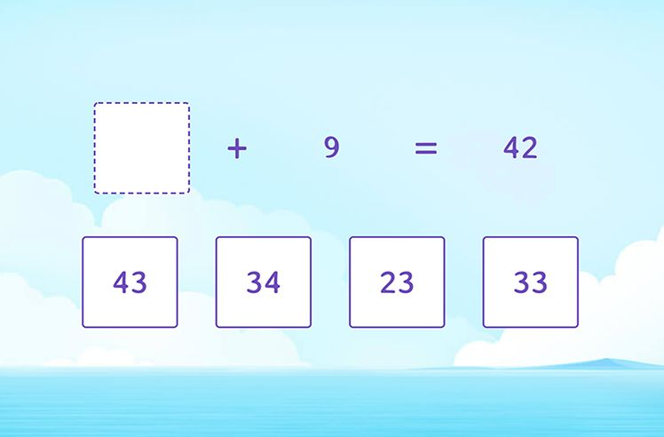 Use Addition to Find the Missing Number