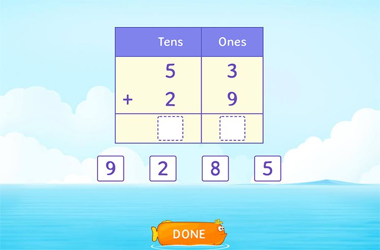 Use Place Value to Add 2-Digit Numbers