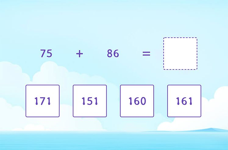 Solve the Equations by Regrouping Ones and Tens