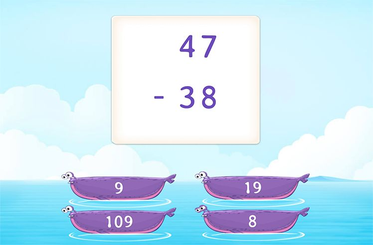 Subtract 2-Digit Numbers by Regrouping