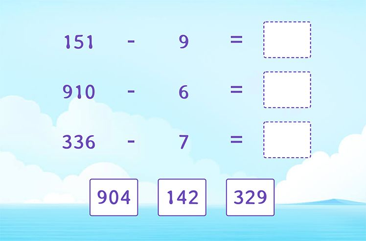 Missing Number in 1-Digit From 3-Digit Subtraction