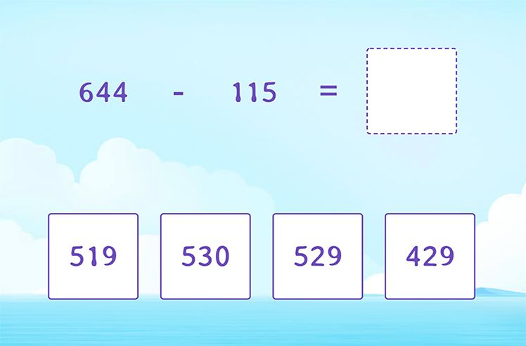 Regroup to Subtract 3-Digit From 3-Digit Numbers