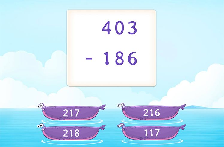Regroup and Subtract 3-Digit From 3-Digit Numbers