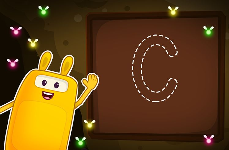 Time to Trace Uppercase C