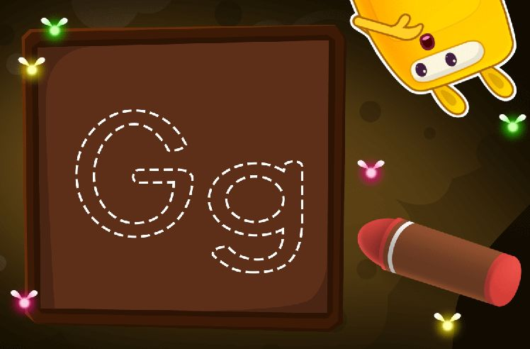Learn to Trace the Letter G