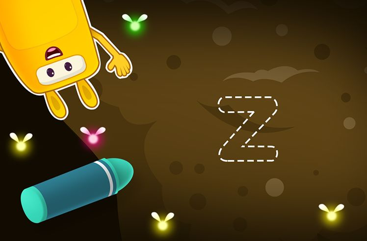 Time to Trace Lowercase z
