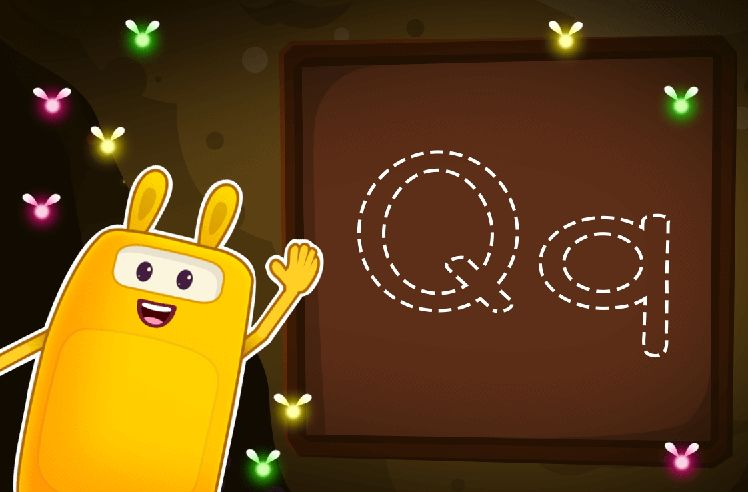 Trace the Letter Q