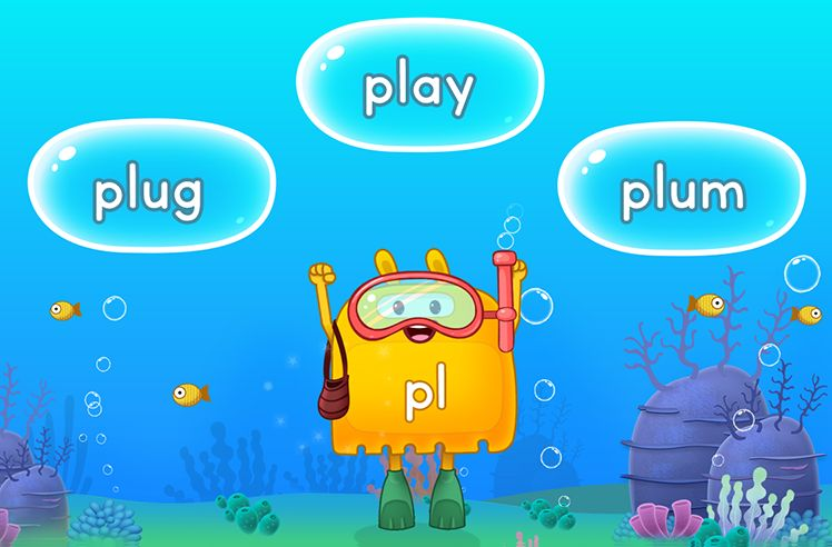 Explore Words With Initial L Blends - pl