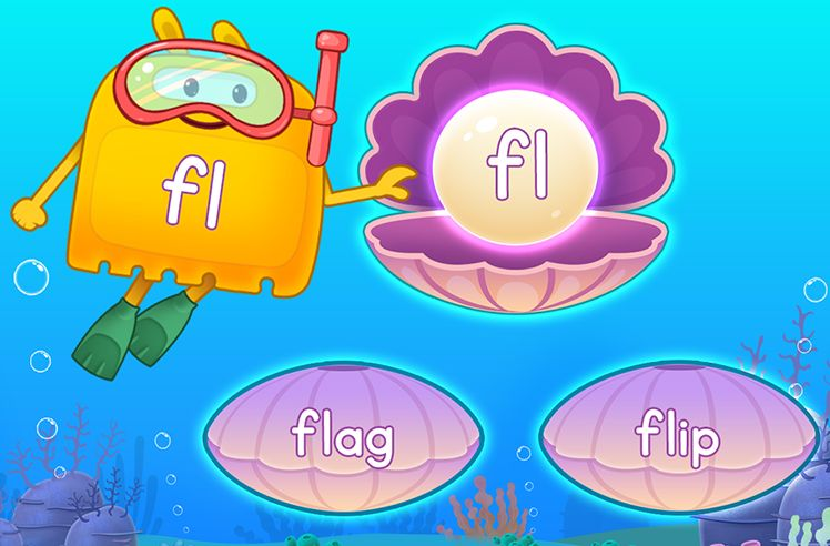 Explore Words With Initial L Blends - fl