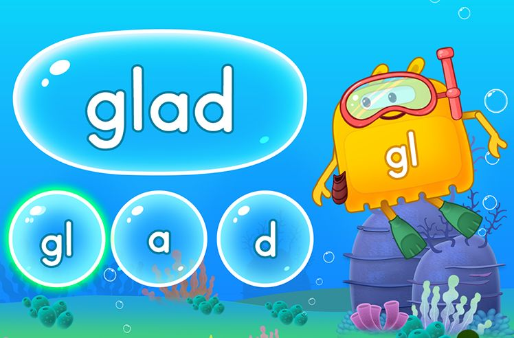 Explore Words With Initial L Blends - gl