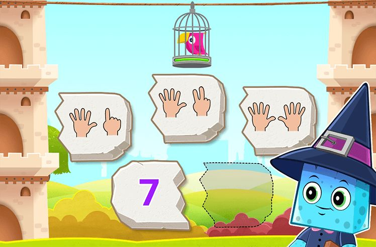 Count on Fingers upto 10
