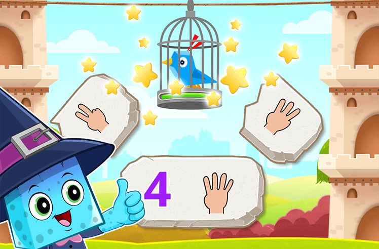 Count on Fingers upto 5
