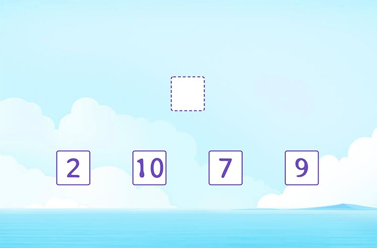 Compare and Place Out the Correct Number