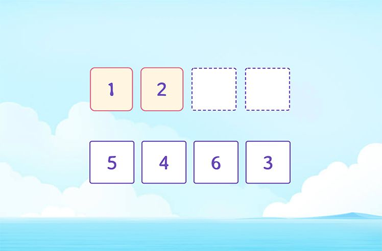 Choose the Next Number in the Counting Sequence
