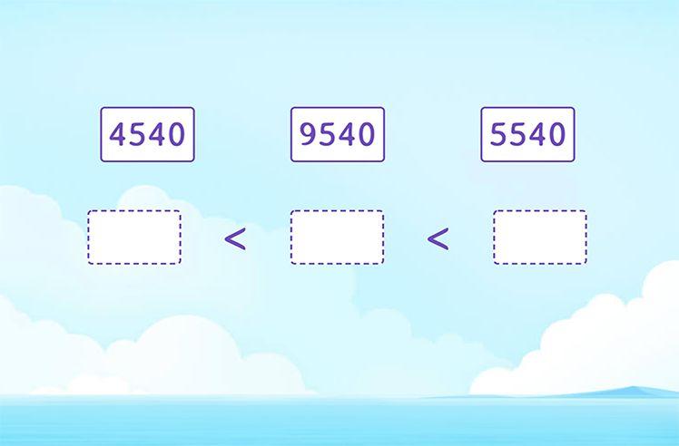Order 4-Digit Numbers