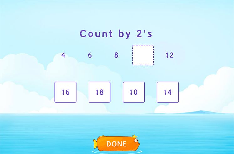 Count On by 2s