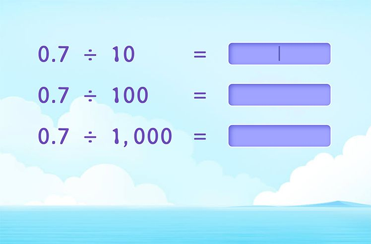 Complete Division Patterns of Decimal Numbers